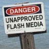 Flash Media Failures: Lessons Learned