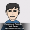Ask Doug: Choosing a Digital Audio Recorder