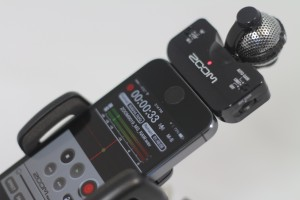 Zoom iQ5 iphone microphone
