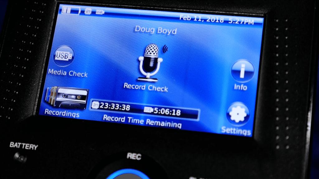 Record Check Feature