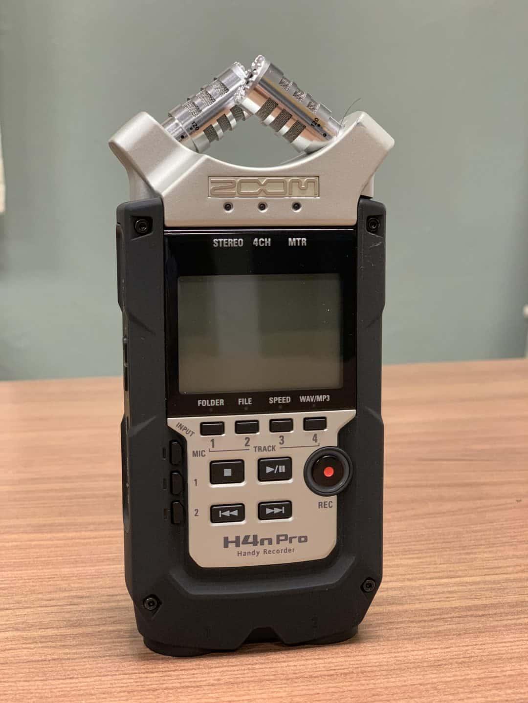 Digital Audio Recorders: Zoom H4N Pro
